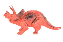 Triceratops dinosaurs toy. Stock Photography