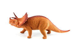 Triceratops dinosaurs toy Stock Photo