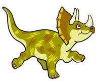 Triceratops dos desenhos animados Fotos de Stock Royalty Free