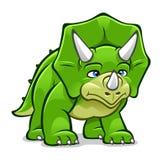 Triceratops dos desenhos animados Imagem de Stock