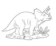 Triceratops Royalty Free Stock Image