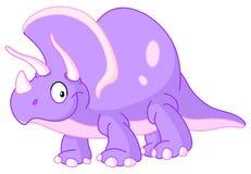 Triceratopsdinosaur vektor illustrationer