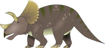 Triceratopsdinosaurie Arkivfoton