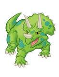 Triceratopsdinosaurus stock illustratie