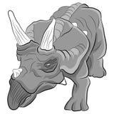 Triceratopsdinosaurus Royalty-vrije Stock Fotografie