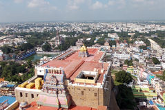 Trichy is a colorful little town with many places of worship Royalty Free Stock Images
