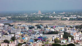 Trichy is a colorful little town Stock Image