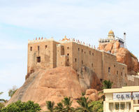 Trichy fort tamil nadu india Royalty Free Stock Photos