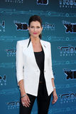 Tricia Helfer arrives at the Disney XD's  Royalty Free Stock Image