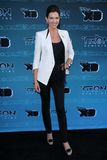 Tricia Helfer at Disney XD's  Royalty Free Stock Photography