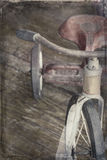 Triciclo antico Fotografie Stock Libere da Diritti