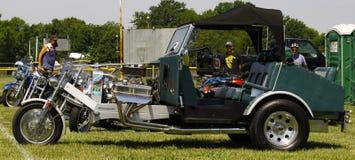 Triciclo de encargo Foto de archivo
