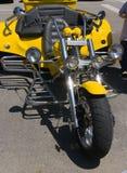 Triciclo de la moto Foto de archivo libre de regalías