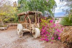 Triciclo de madeira Fotografia de Stock