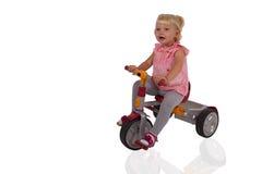 Triciclo del bambino Immagini Stock Libere da Diritti
