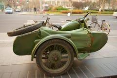Triciclo del motore Fotografia Stock Libera da Diritti