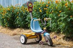 Triciclo del niño Foto de archivo