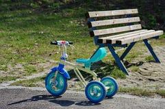 Triciclo del niño Fotos de archivo