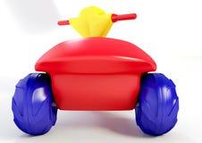 triciclo della plastica 3D Fotografia Stock