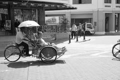 Triciclo em Penang Foto de Stock Royalty Free