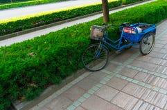 Triciclo en Shangai Imágenes de archivo libres de regalías