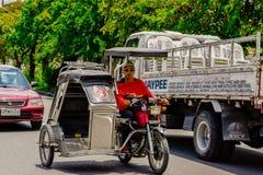 Triciclo filipino fotografía de archivo libre de regalías