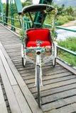 Triciclo sul ponte di storia di Pai Immagine Stock Libera da Diritti