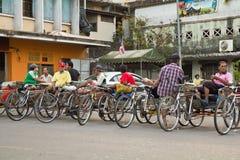 Triciclo Tailandia Immagine Stock