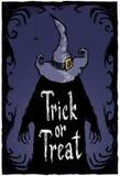 Trick oder Festlichkeit Halloween-pocter Stockfotos