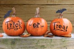 Free Trick Or Treat Pumpkins Stock Image - 26825661