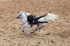 Trick riding Royalty Free Stock Photo
