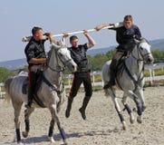 Trick riding Royalty Free Stock Image