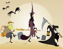 Trick or Treat. Ers gone ghoulish. Original illustration Stock Photos