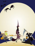 Trick or Treat. Ers gone ghoulish. Original illustration stock illustration