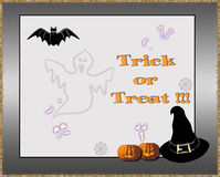Trick or treat ! Stock Photography