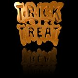 Trick Or Treat Background Royalty Free Stock Photo