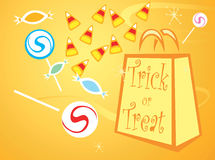 Trick or Treat Bag Stock Photos
