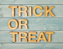 Trick or treat composition Royalty Free Stock Image