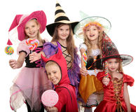 Trick Or Treat! Royalty Free Stock Photography
