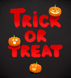 Trick or treat Stock Photography