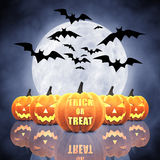 Trick or treat Stock Photo