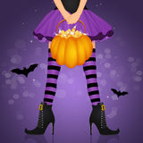 Trick or treat of Halloween Royalty Free Stock Images