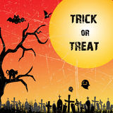 Trick or treat Stock Image