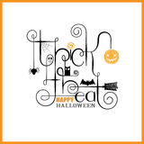 Trick or Treat Happy Halloween Stock Photo