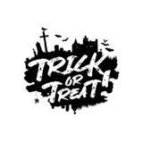 Trick or treat. Happy Halloween Stock Photo