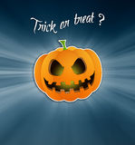 Trick or treat ? Royalty Free Stock Images