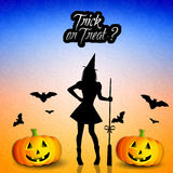 Trick or treat ? Royalty Free Stock Photos