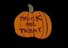 Trick or treat? Royalty Free Stock Photo