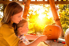 Trick-or-treat Stock Images