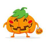 Trick Or Treat Pumpkin Royalty Free Stock Images